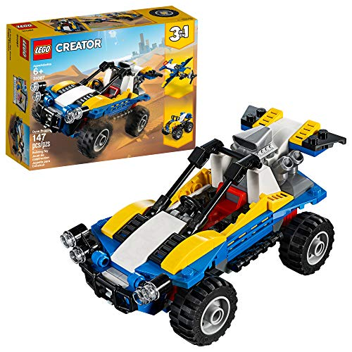 LEGO Creator 3in1 Dune Buggy 31087 Building Kit , New 2019 (147 Piece) (Best 1 8 Buggy)