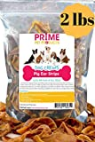 K9KONNECTION Prime PET Pig Ear Strips – 2 lb Bag (40+Strips) of All Natural Healthy Dog Treat, Made of Pure Pork Pig Ears – Better Alternative to Rawhide Dog Chews for Dogs For Sale