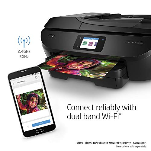 HP ENVY Photo 7855 All in One Photo Printer with Wireless Printing, Instant Ink ready (K7R96A) (Renewed) by HP (Image #8)