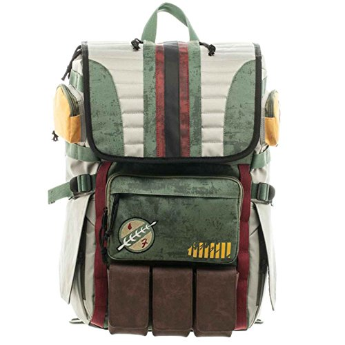 Star Wars Backpack Bag Boba Fett Armour Rucksack - Wars Star Rucksack