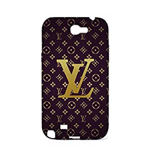 Louis and Vuitton Phone Case for Samsung Galaxy Note 2 N7100 3D Great Design Louis with Vuitton Logo Phone Case