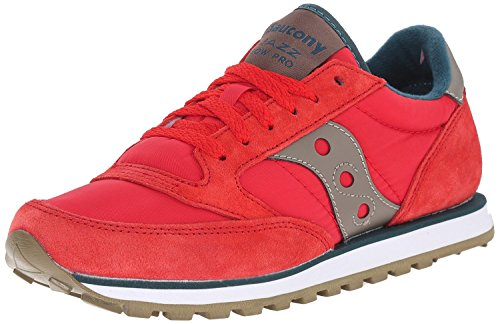 Saucony-Originals-Womens-Jazz-Lowpro-Classic-Retro-Running-Shoe-RedTeal-11-M-US