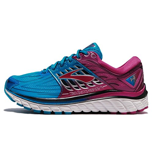 73c5fbf0c1bd8 Galleon - Brooks Glycerin 14 Women s Running Shoes - 9.5 - Blue
