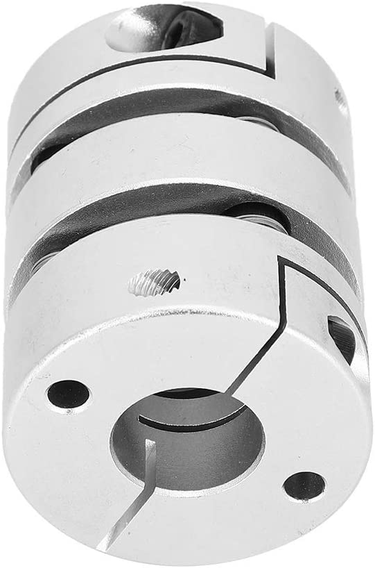 Shaft Sleeve Coupler GL‑39 x 50‑16 x 16 Aluminum Alloy Shaft Sleeve Adapter Coupling Motor Connector Vikye Shaft Coupler