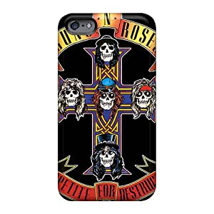 CharlesPoirier Apple Iphone 6 Shockproof Hard Cell-phone Cases Allow Personal Design Nice Guns N Roses Series [YPa28535BXEa]