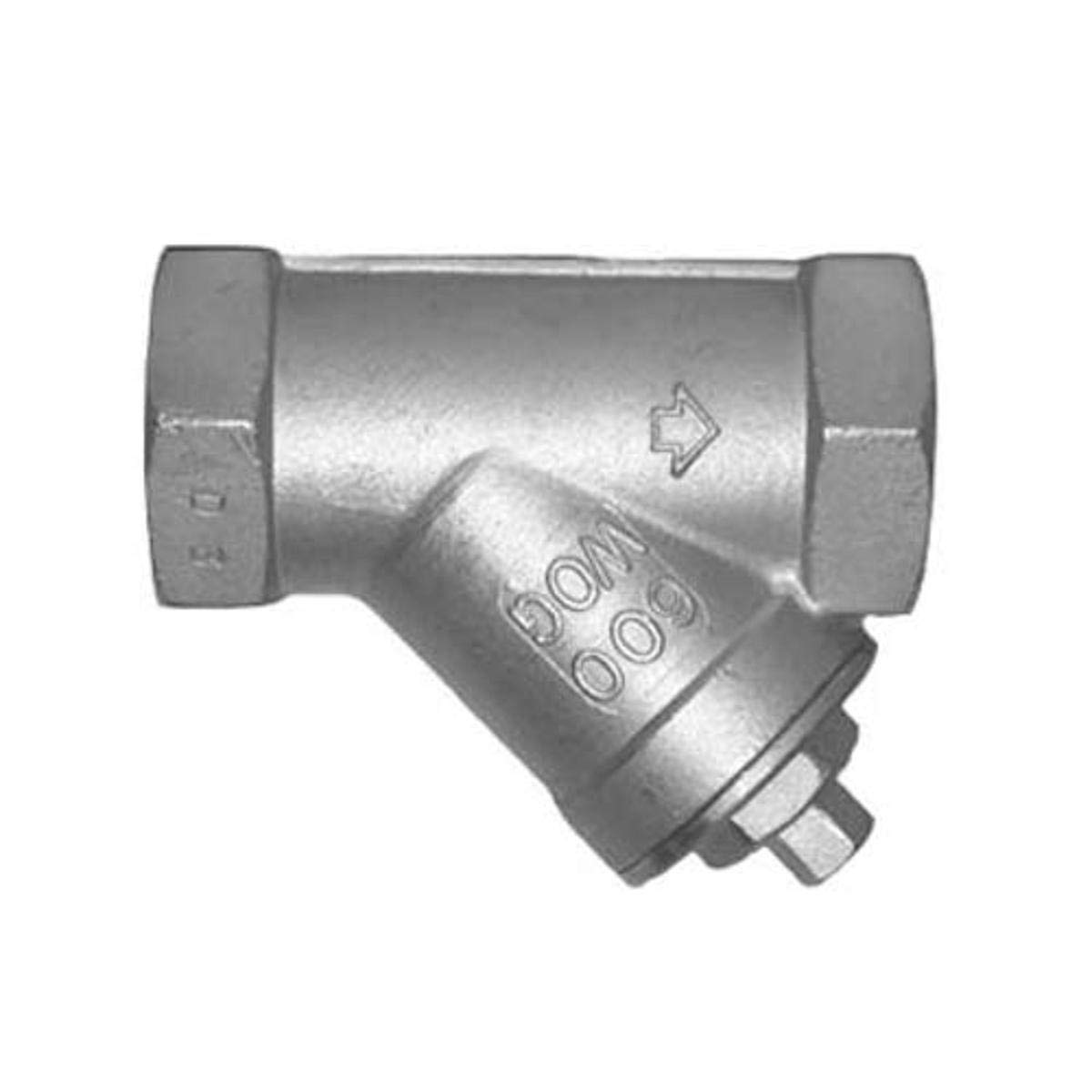 0.7x2.6x0.7.316 Stainless Steel 0.7x2.6x0.7.316 Stainless Steel Legend Valve 113-494 Stainless Y-Strainer