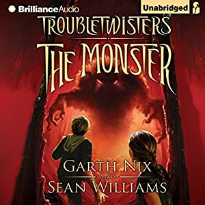 Troubletwisters Book 2: The Monster Audiobook