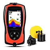 Lucky Portable Smart Fish Finder with High Definition LCD Display for Kayak Fishing Ice Fishing