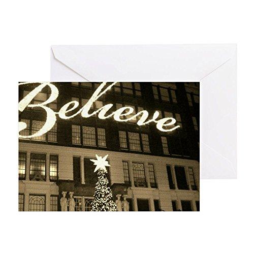 CafePress - Macy's New York City Christmas - Greeting Card, Note Card, Birthday Card, Blank Inside - Macy's Birthday