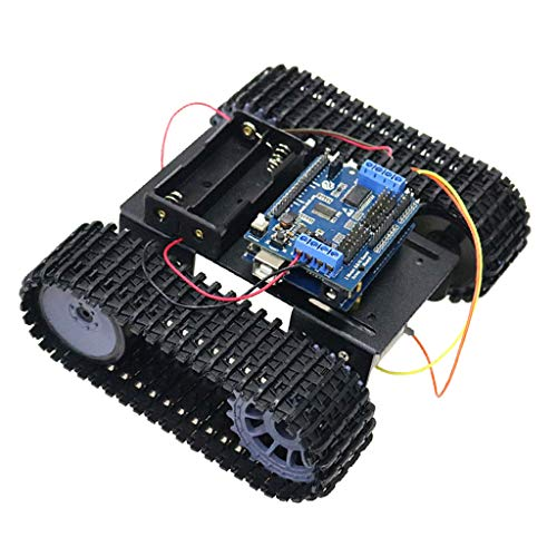 Almencla Arduino WiFi Control Robot Smart Tank Chassis with Dual DC Motor Control Kit