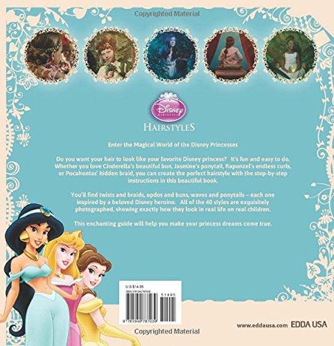 Disney Princess Hairstyles Edda Usa Editorial Team 9781940787039 Amazon Com Books