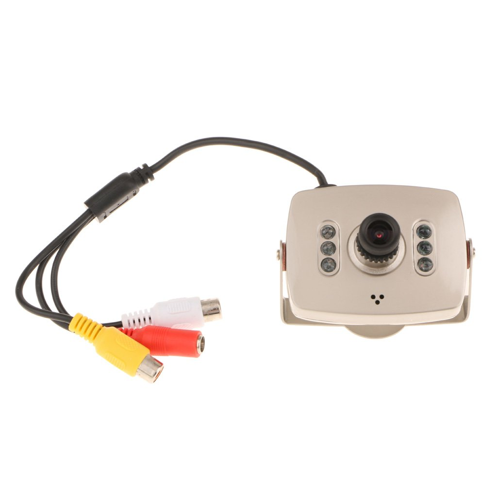 MagiDeal IR Wired Mini Monitor Camera Home Security Night Vision Infrared Video Recorder
