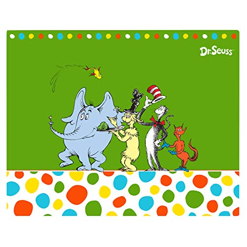 BirthdayExpress Dr Seuss Cat in The Hat Party Supplies - Placemats -