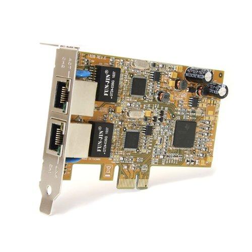 StarTech ST1000SPEXD2 PCIe x1 1000 Mbit/s Network Adapter