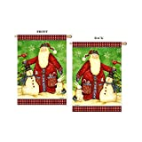 Cheap Santa's Snowman – Large Size 28 Inch X 40 Inch Decorative Flag