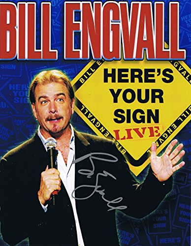 bill-engvall-signed-8x10-photo-comedian-autograph-coa