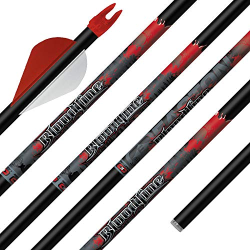 "Easton Bloodline Arrow 330 Cut to 30"" with Inserts Installed"