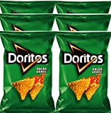 Doritos Salsa verde Flavored Tortilla Chips 9.75 oz Bags (6)