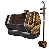 OrientalMusicSanctuary Black Sandalwood Erhu for Advanced Performers - Ebony Erhu