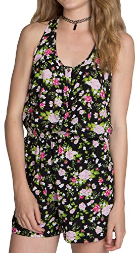 ragstock-printed-strappy-and-racerback-rompers-pink-grn-romp-l