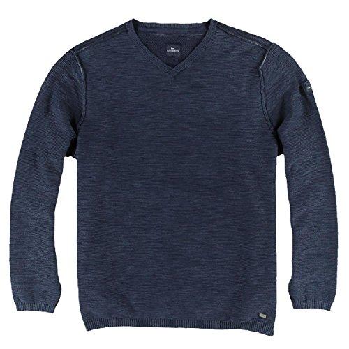 engbers Herren Pullover V-Ausschnitt, 24363, Blau