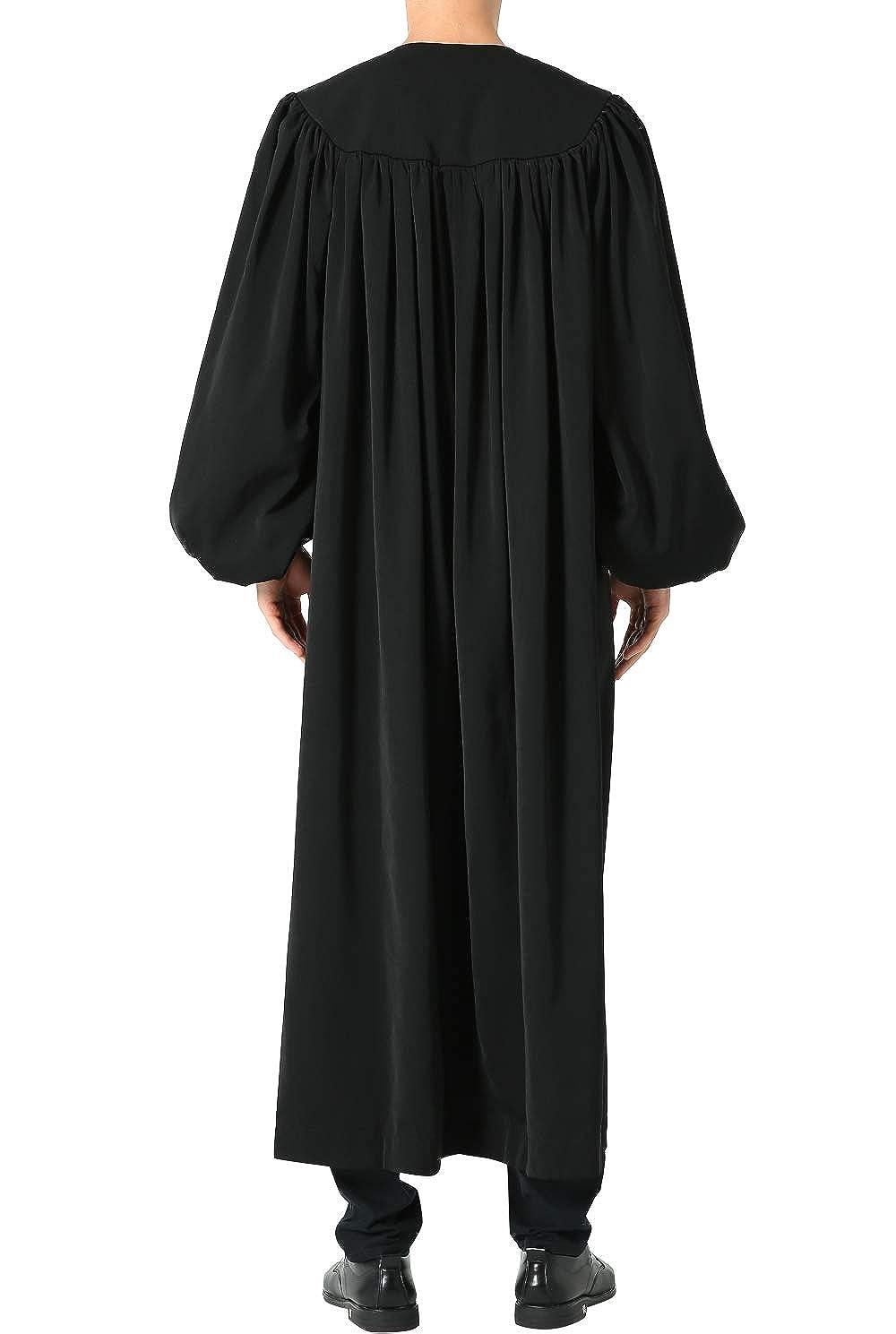 GGS Unisex Adult Premium Matte Fabric Baptismal Robe