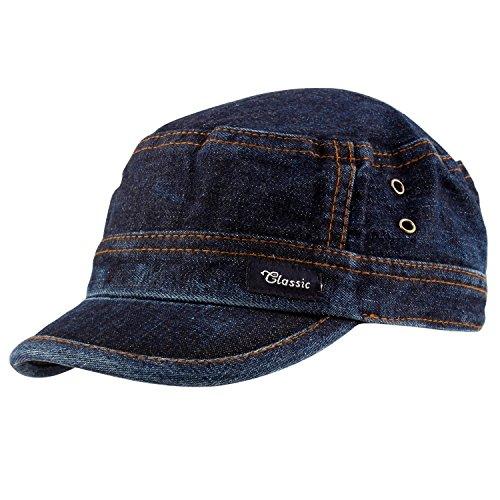 COPPERZEIT Blue Denim Cap for Men and Women  Amazon.in  Clothing    Accessories 772b373f4c0