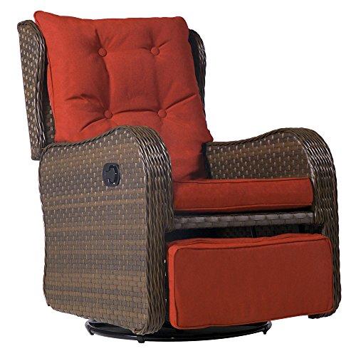 Swivel Glider Club Chair - 2