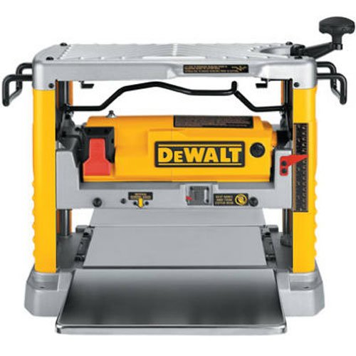 12 Steel Gauge Workbench (DEWALT DW734 15 Amp 12-1/2-Inch Single Speed Benchtop Planer)