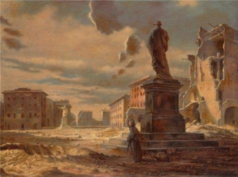 Oil Painting 'Edward Laning,Livorno,1945-1947', 10 x 13 inch / 25 x 34 cm , on High Definition HD canvas prints is for Gifts And Basement, Home Office And Study Room Decoration, (College Girl Halloween Pics)