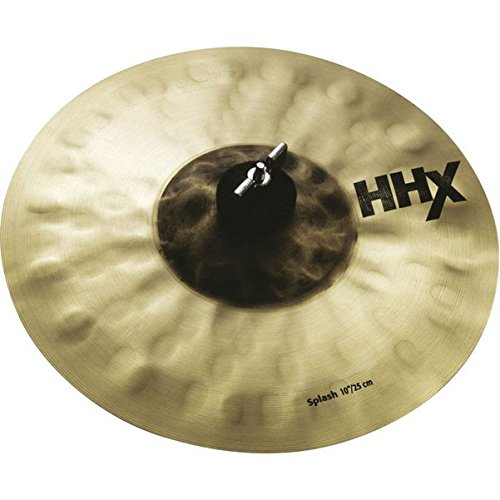 Sabian 10-Inch HHX Evolution Splash Brilliant Finish - Cymbal Finish Brilliant
