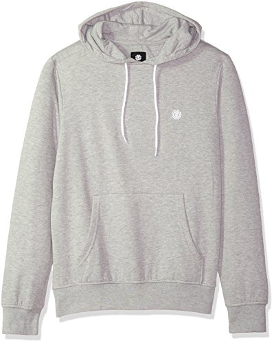 Element Men's Cornell Classic Pull Over Hoody, Grey Heather, XL