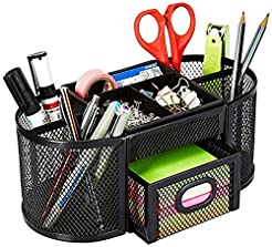 AmazonBasics DSN-02950 Mesh Desk Organiz...