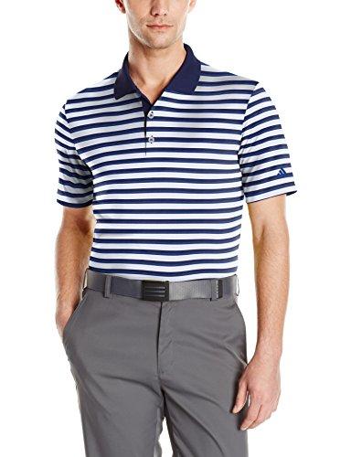 adidas Golf Mens Adi Club Merch Stripe Shirt