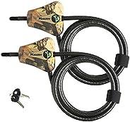 Master Lock - Python Adjustable Camouflage Cable Locks #8418KA CAMO 4pk