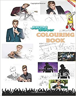 Amazon Exclusive Justin Bieber Colouring Book Company As Long You Love Me One Time Ill Show Less Lonely Girl Eenie Meenie