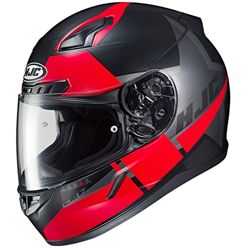 (HJC CL-17 Boost Mens Full-Face Snowmobile Helmet - MC-1SF / Large)