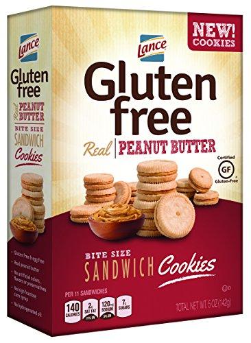 Lance Gluten Free Cookie Sandwich, Peanut Butter, 5 oz
