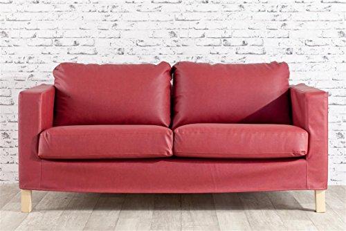 Dekoria karlstad rivestimento per divano a 2 posti in eco pelle rivestimento adatto al modello - Rivestimento divano ikea ...
