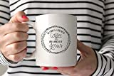 Coffee Mug 11 oz White Novelty Christian Themed - All I Need Is a Little Bit of Coffee And A Whole Lot Of Jesus- Perfect Gift For Women, Men, Friends and Family