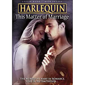 Harlequin: This Matter of Marriage