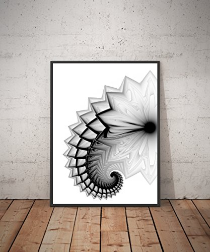 the-mechanical-tail-abstract-art-print