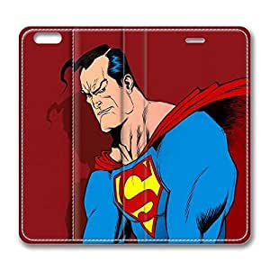 VUTTOO iPhone 6 plus Case, iPhone 6 plus Case - VUTTOO Highly Protective Anti-Scratch Leather Cases for iPhone 6 plus Superman Comic Art Folio Flip Leather Case Cover for iPhone 6 plus 5.5 Inch by mcsharksby Maris's Diary