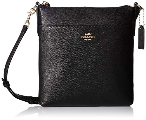 COACH Women's Messenger Crossbody Li/Black Crossbody Bag