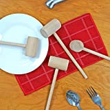 Southern Homewares Wooden Crab Mallet Seafood