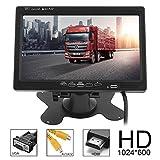 ePathChina Car Rear View Monitor 2 Video Input DVD VCD Headrest Vehicle Monitor