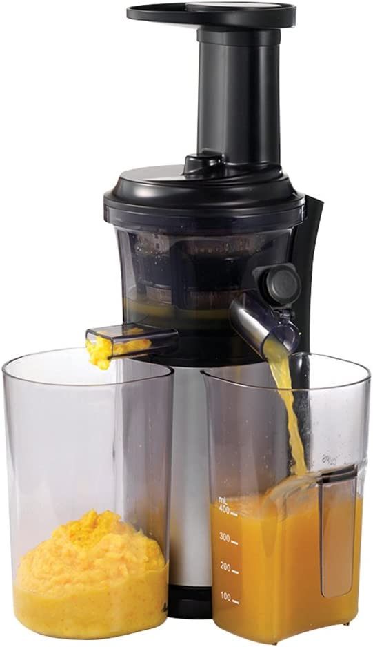 Morphy Richards Easy Juice Juicer 404001 BlackSilver Easy Juicer