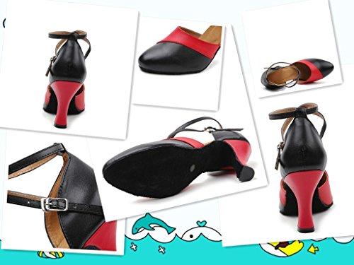 Scarpe M059Red Shoes KeKe da ballo donna qwFBUxC5