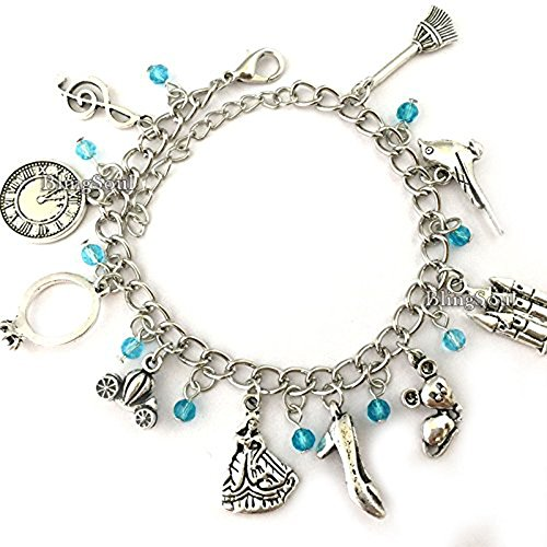 Disney Cinderella Bracelet For Women - Cinderella Castle Jewelry Gifts Collection