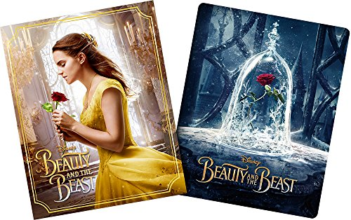 Beauty and the Beast movienex Plus 3d Steel Book: Online Limited Product [Blu-ray 3d + Blu-Ray + DVD + Digital Copy (Cloud Supported) + movienex World] [Blu-ray]